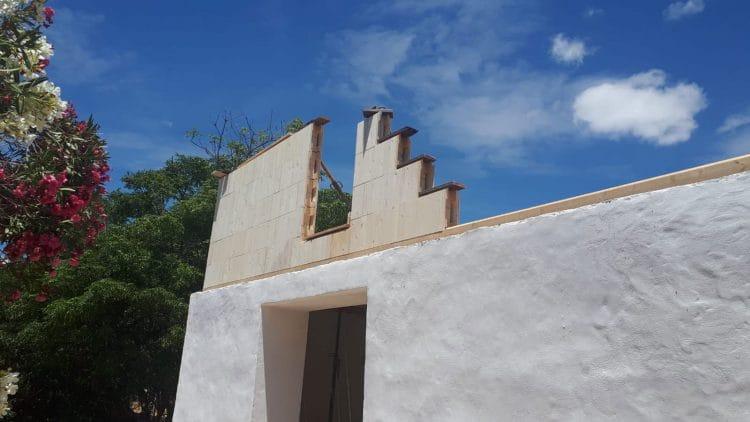 Día 3 - Levantamiento de paredes STEKO - Vista exterior
